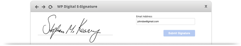 Sign Documents Onilne Using WordPress E-Signature